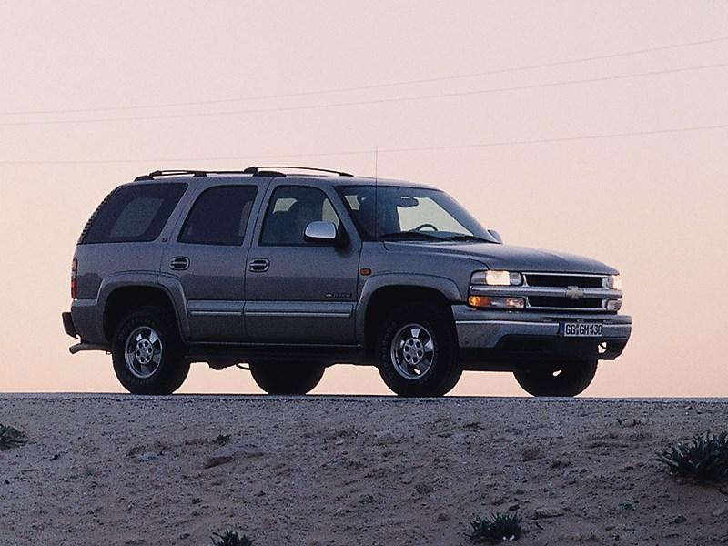 Chevrolet Tahoe 2001 статика фото 7