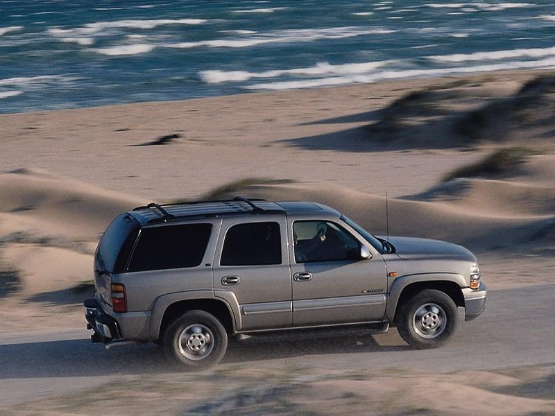 Chevrolet Tahoe 2001 динамика фото 3