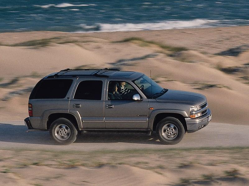 Chevrolet Tahoe 2001 динамика фото 4