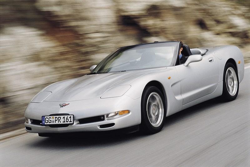 Chevrolet Corvette 2001 в кузове кабриолет фото 7