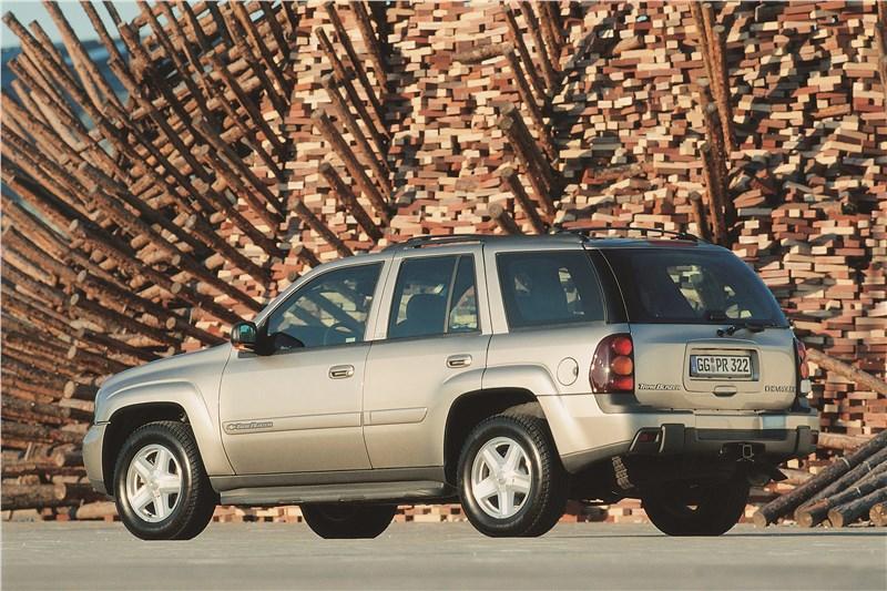 Chevrolet TrailBlazer 2001 фото 2