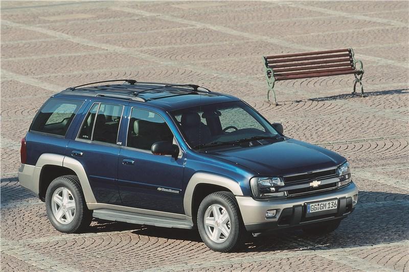 Chevrolet TrailBlazer 2001 фото 3