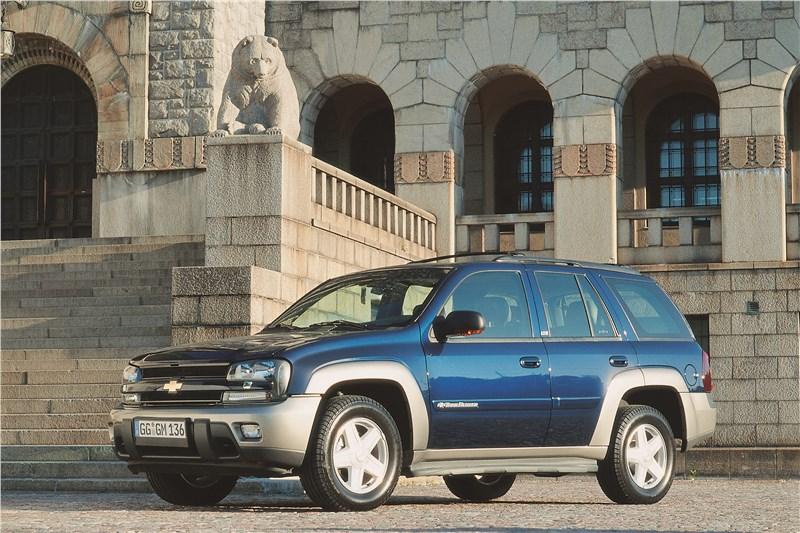 Chevrolet TrailBlazer 2001 фото 4