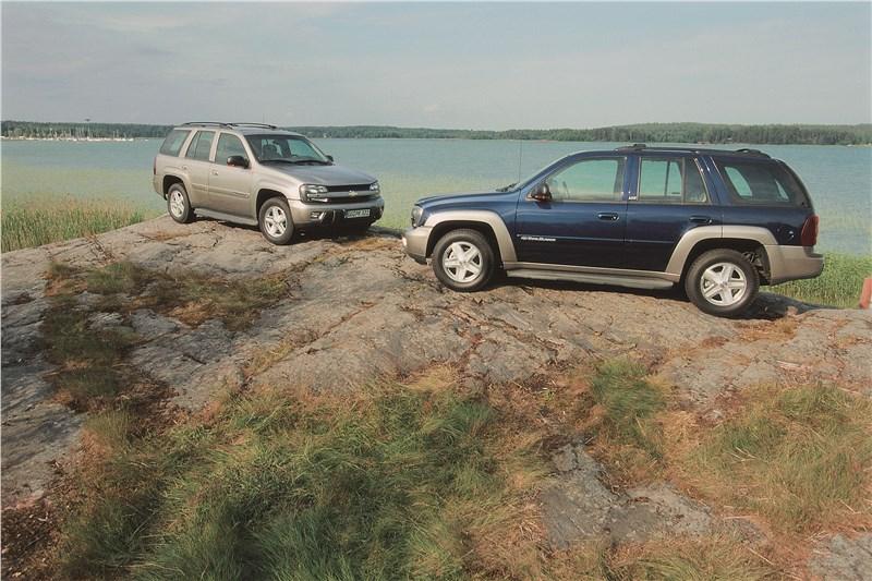 Chevrolet TrailBlazer 2001 фото 6
