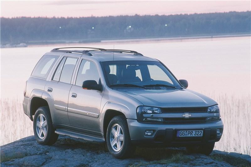Chevrolet TrailBlazer 2001 фото 10