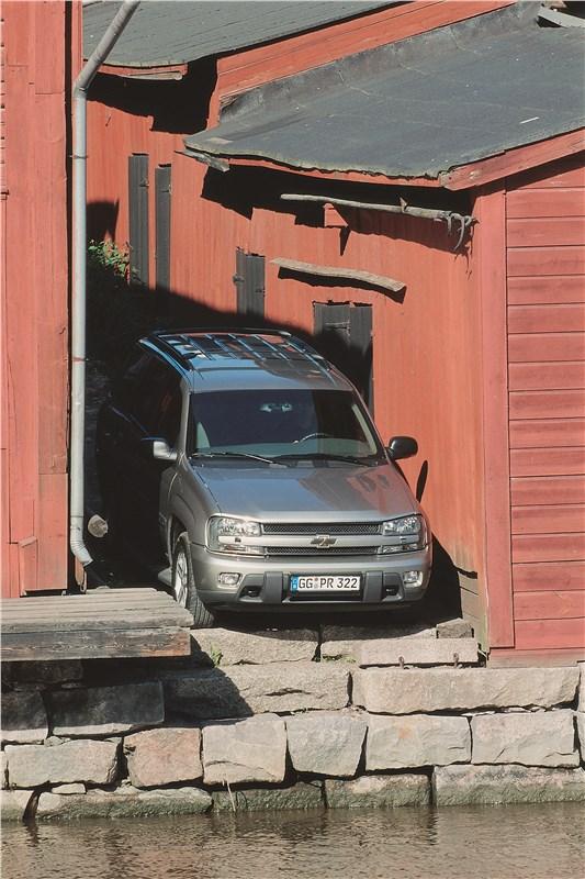 Chevrolet TrailBlazer 2001 фото 16