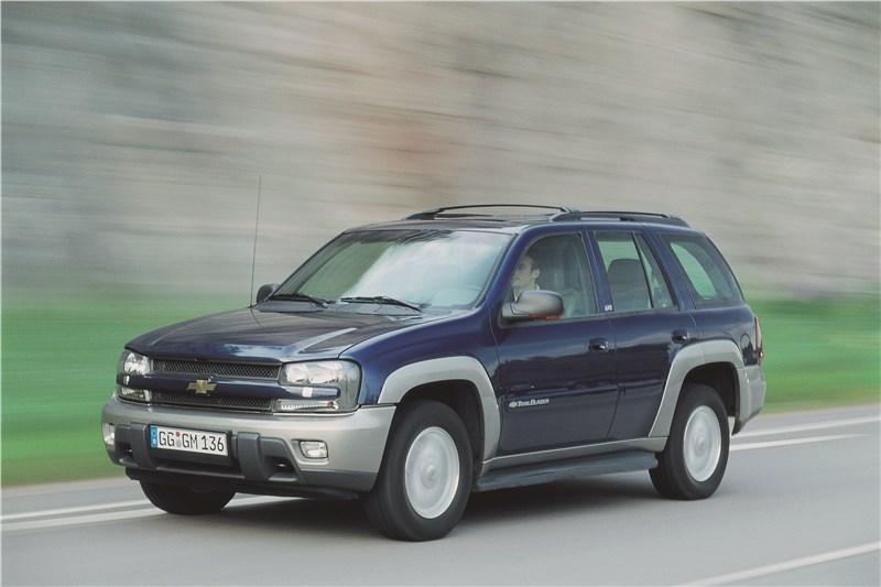 Chevrolet TrailBlazer 2001 фото 5
