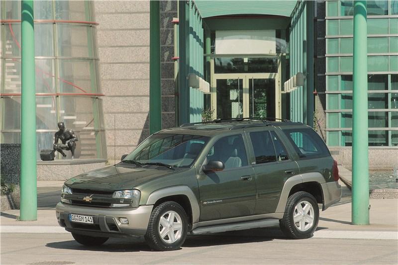 Chevrolet TrailBlazer 2001 фото 18