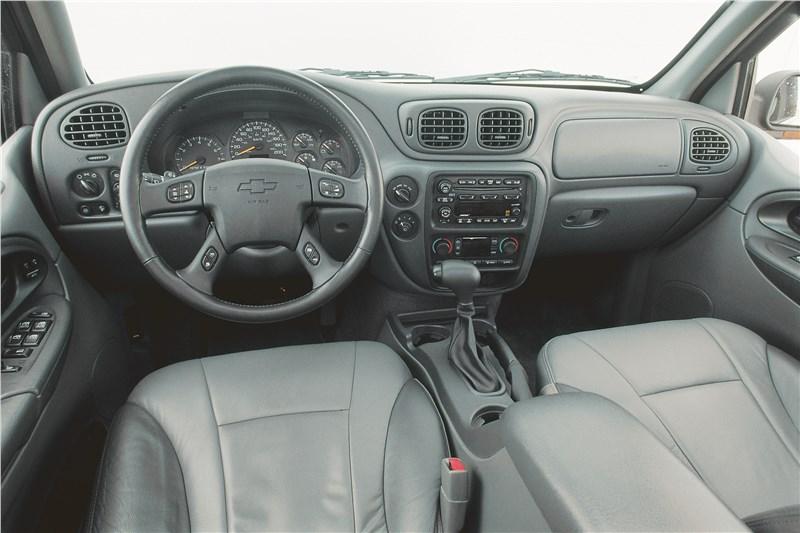 Chevrolet TrailBlazer 2001 панель приборов и органы управления