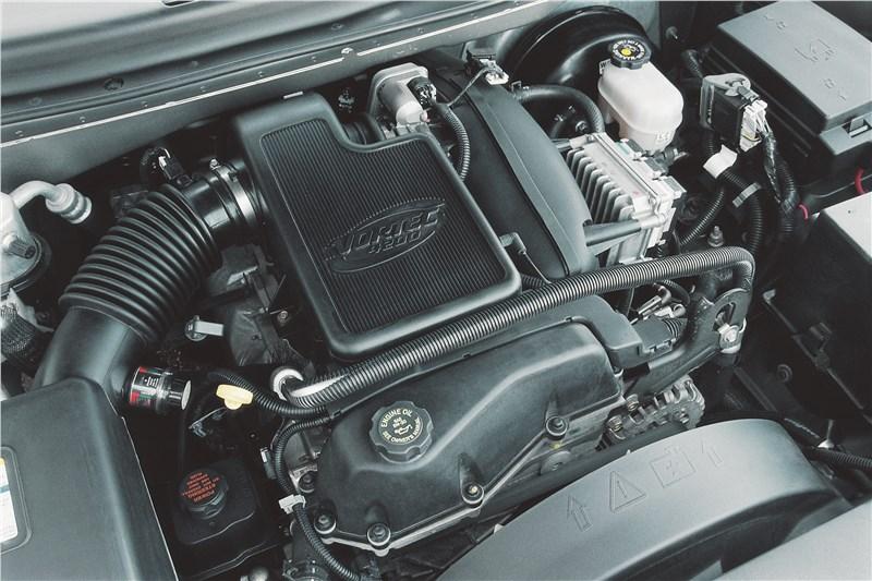 Chevrolet TrailBlazer 2001 двигатель Vortec 4_2