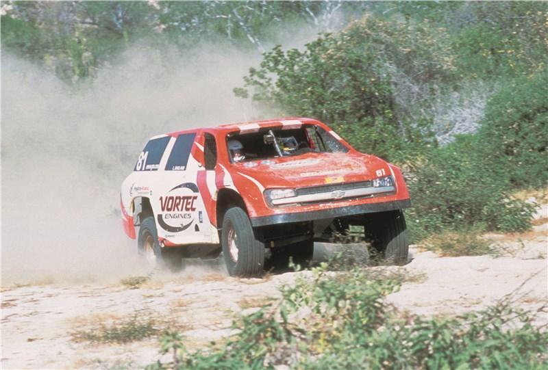 Chevrolet TrailBlazer 2001 в автоспорте 1