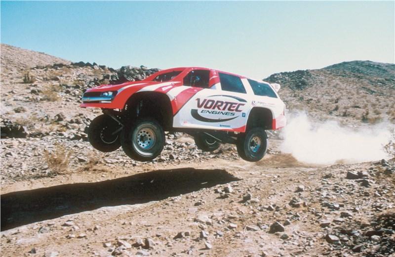 Chevrolet TrailBlazer 2001 в автоспорте 2