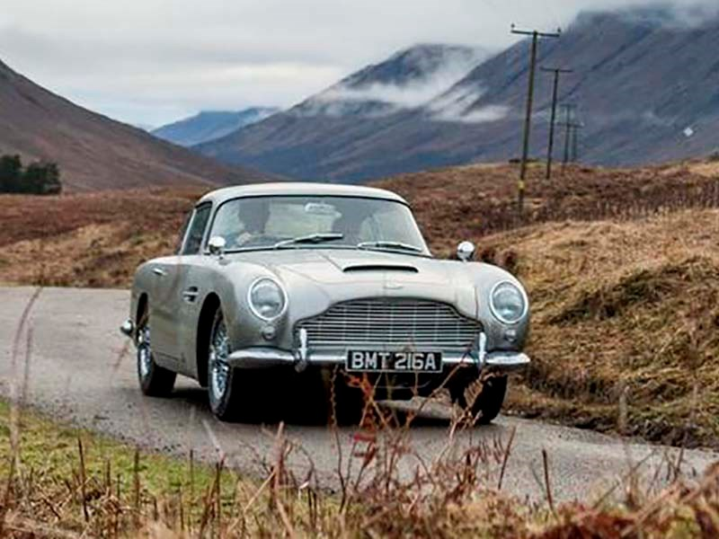 Aston Martin заново выпустит DB5 Джеймса Бонда
