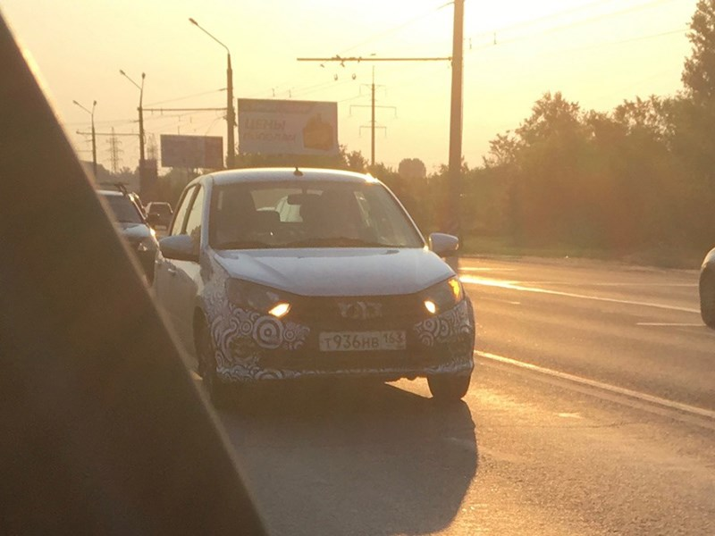 Обновлённая Lada Granta Sport попалась на тестах