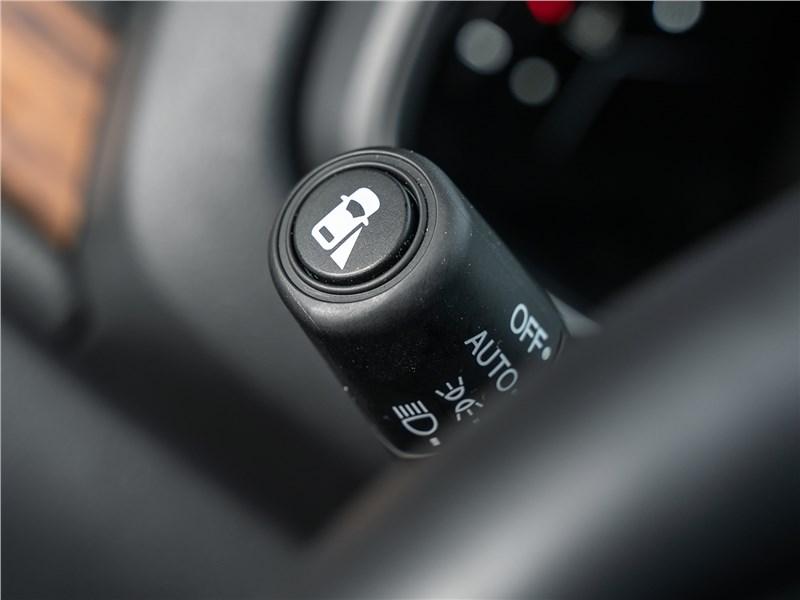 Honda CR-V (2020) рычажок управления светом