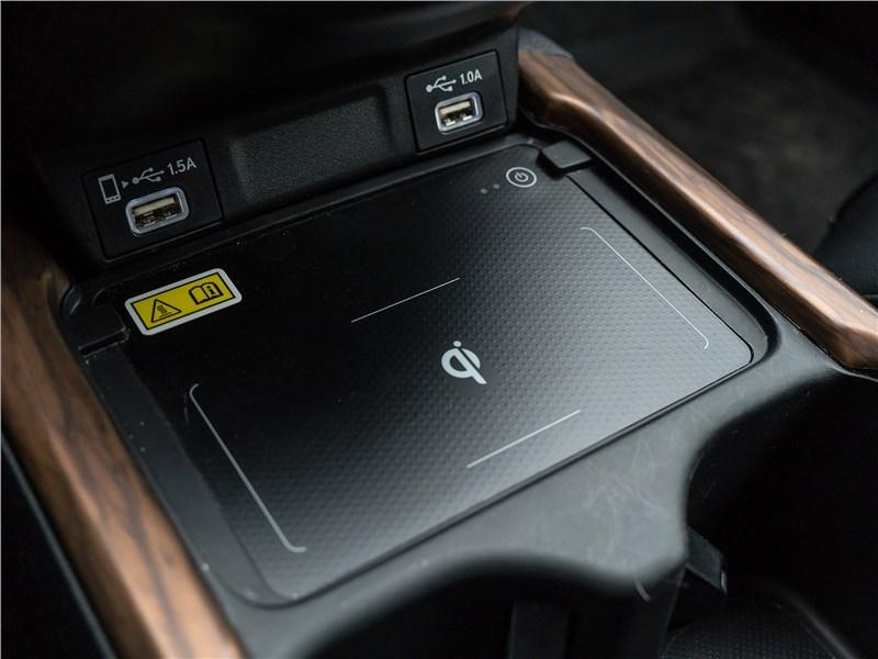 Honda CR-V (2020) беспроводная зарядка