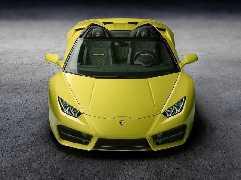 Lamborghini привезла в Лос-Анджелес заднеприводную версию Huracan Spyder