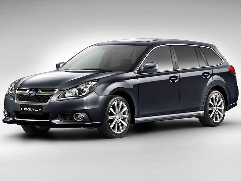 Subaru Legacy 2013 вид спереди фото 5