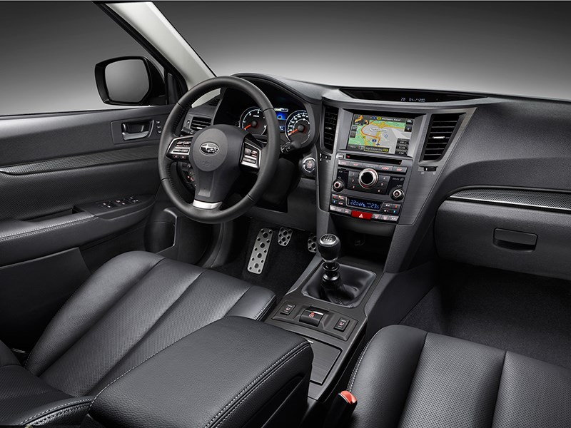 Subaru Legacy 2013 салон фото 1