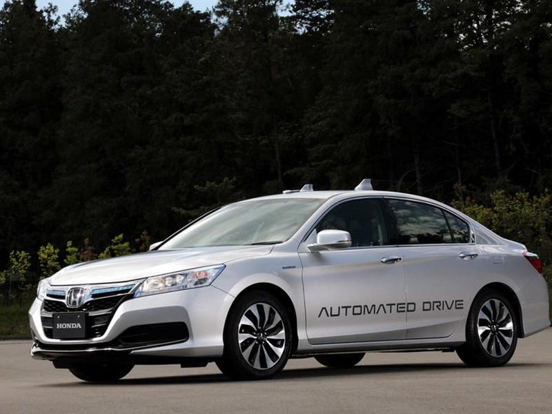 Honda представит автономный автомобиль в 2025 году - автоновости