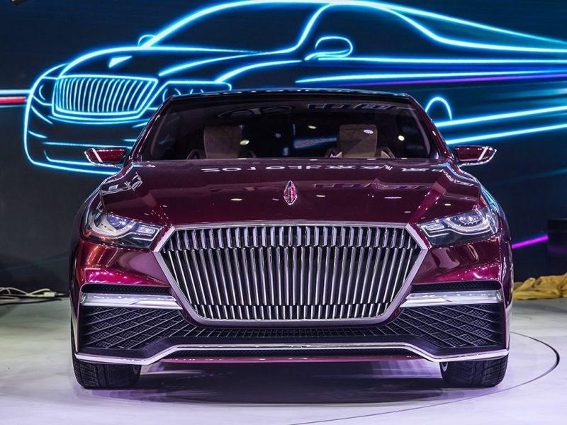 Производитель китайских Aurus представит электромобиль