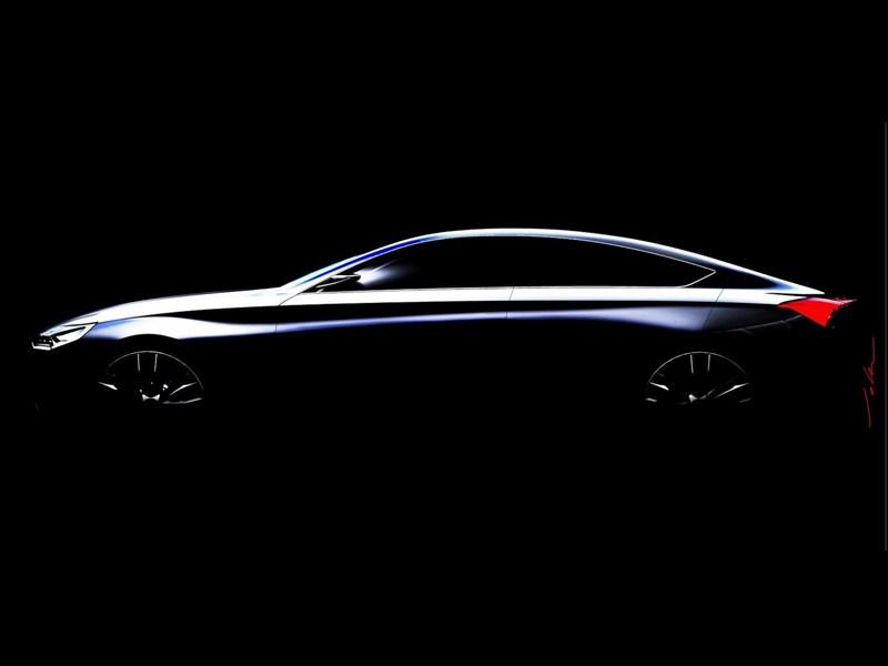 Huyndai привезет в Детройт концепт купеобразный седан