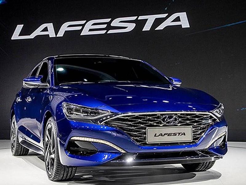 Hyundai Lafesta: встречайте новый фирмернный стиль