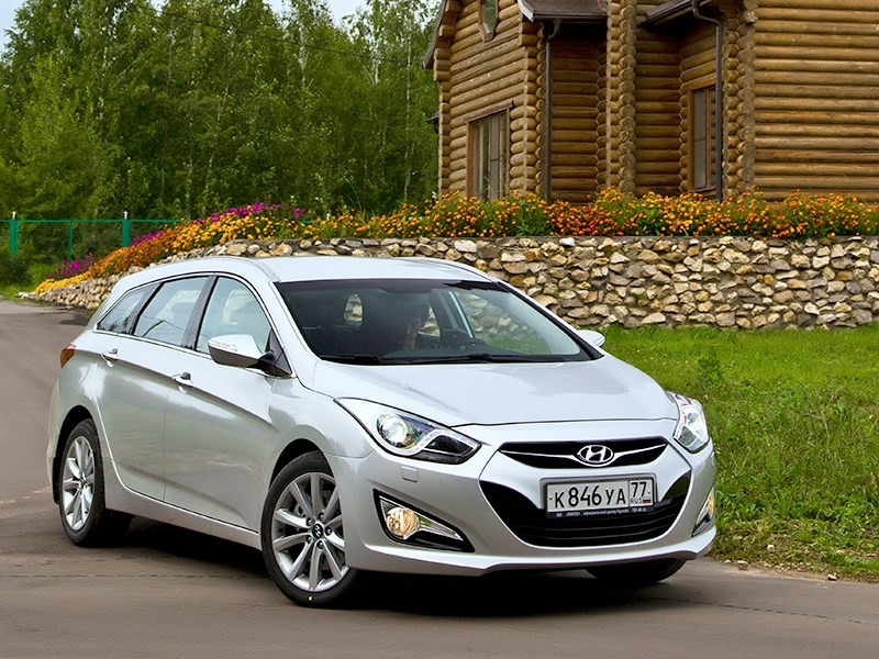 Hyundai I40 - hyundai i40 2012 вид спереди