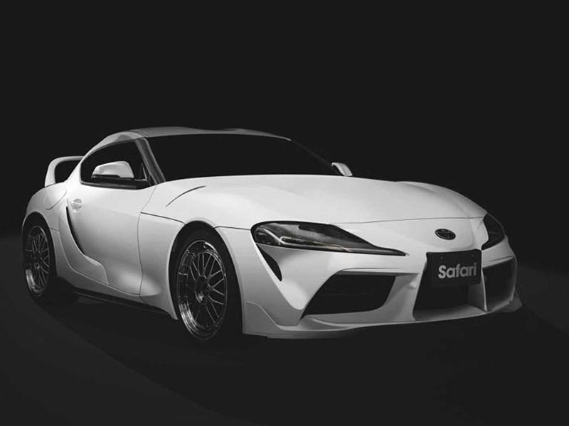 Toyota Supra станет памятником Полу Уокеру