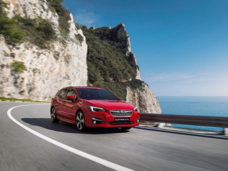 Subaru привезет новую Impreza в Европу