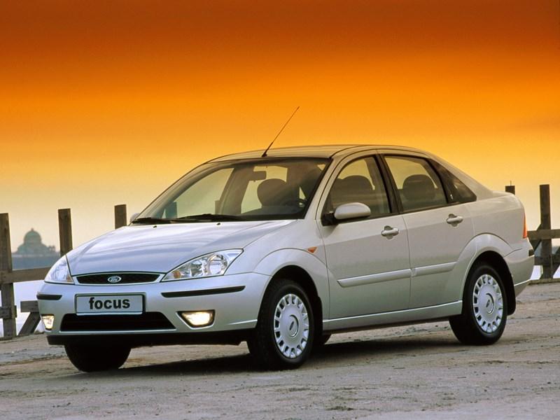Ford Focus 2003 в самом популярном кузове седан