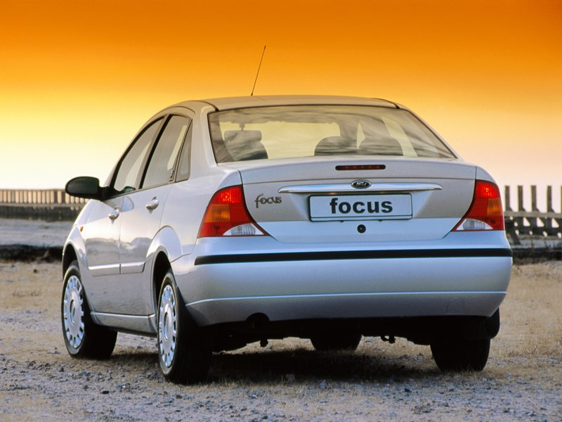 Ford Focus 2003 обладал большим багажником