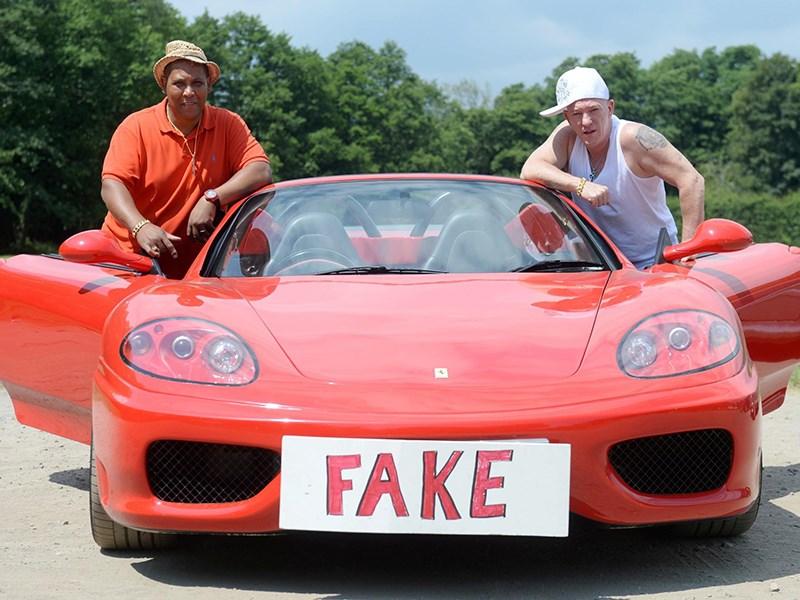 В Бразилии нашли производство поддельных Ferrari и Lamborghini Фото Авто Коломна