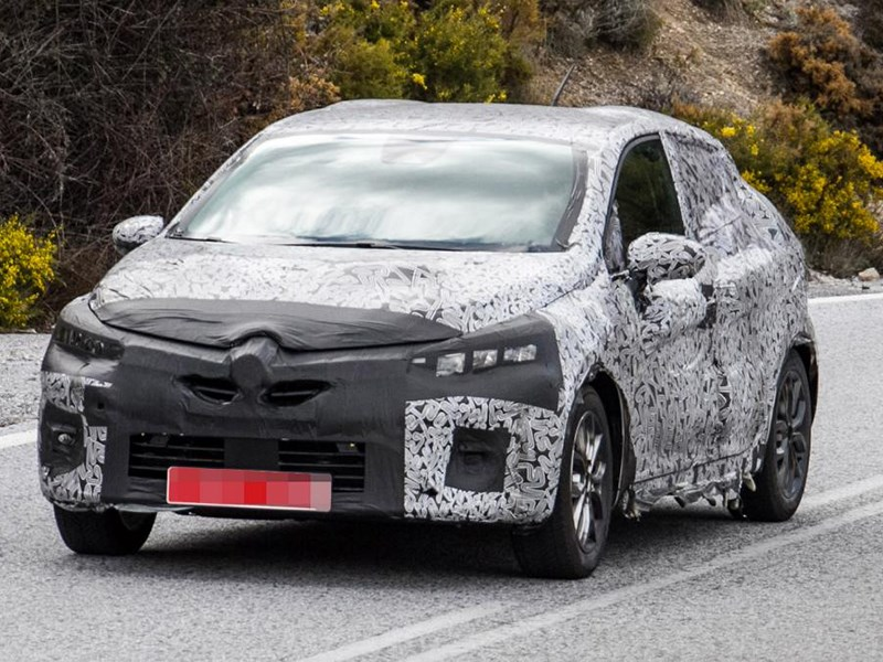 Renault начала тесты нового Clio