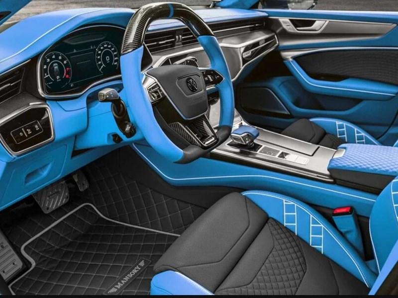 Ателье Mansory прокачало Audi RS7
