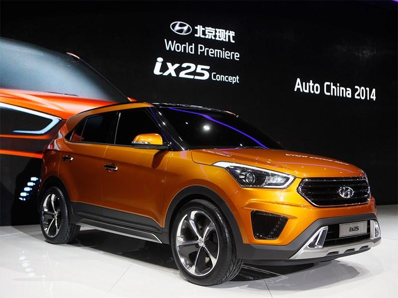 Новый Hyundai IX25 - Hyundai ix25 concept 2014 основной вид