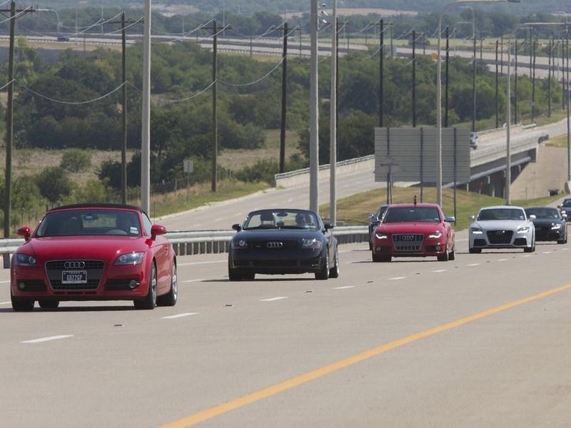 Audi примет участие в создании «умного» шоссе