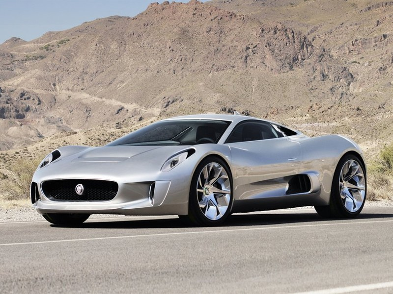 У гибридного Jaguar C-X75 нет будущего