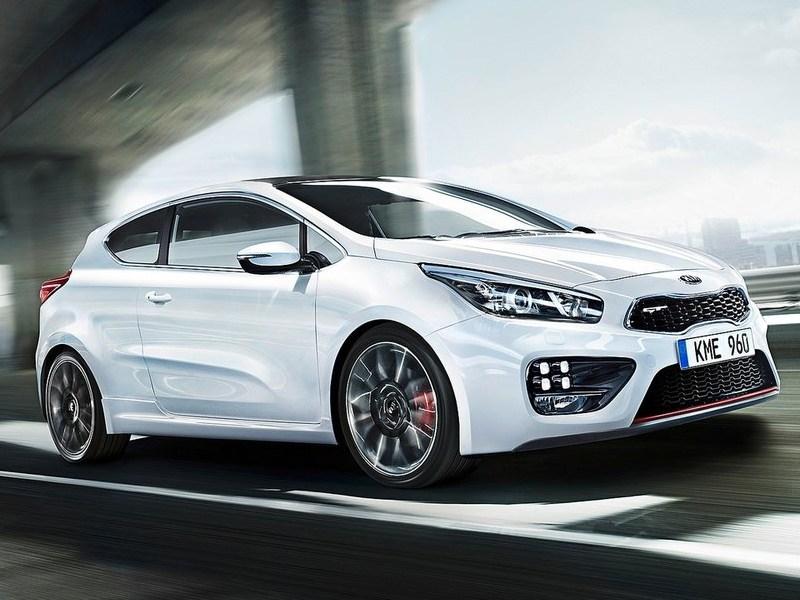 Новая Kia Pro cee'd GT появится в мае 2013 года