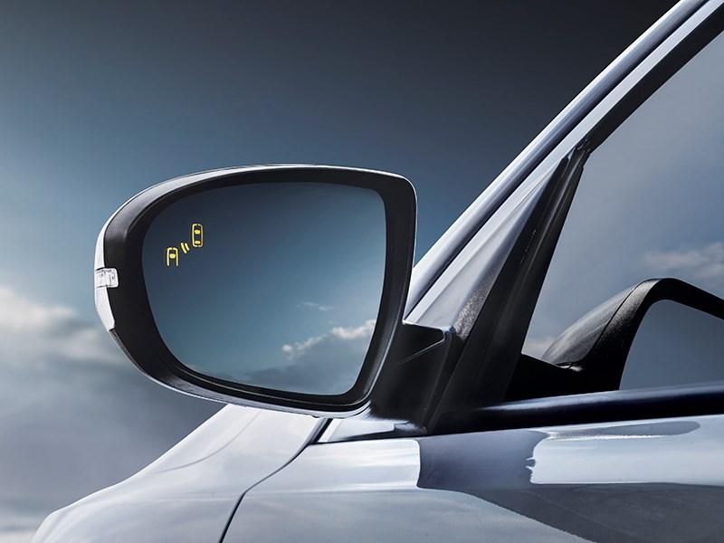 Kia Optima hybrid 2014 боковое зеркало
