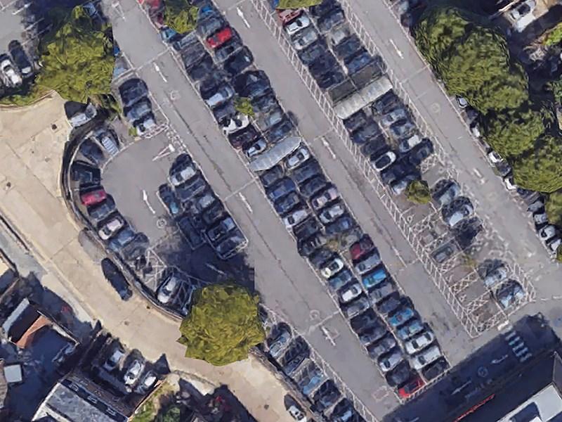 Найдено самое лучшее место на парковках супермаркетов