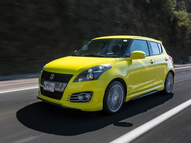 Новый Suzuki Swift увидит свет через два года