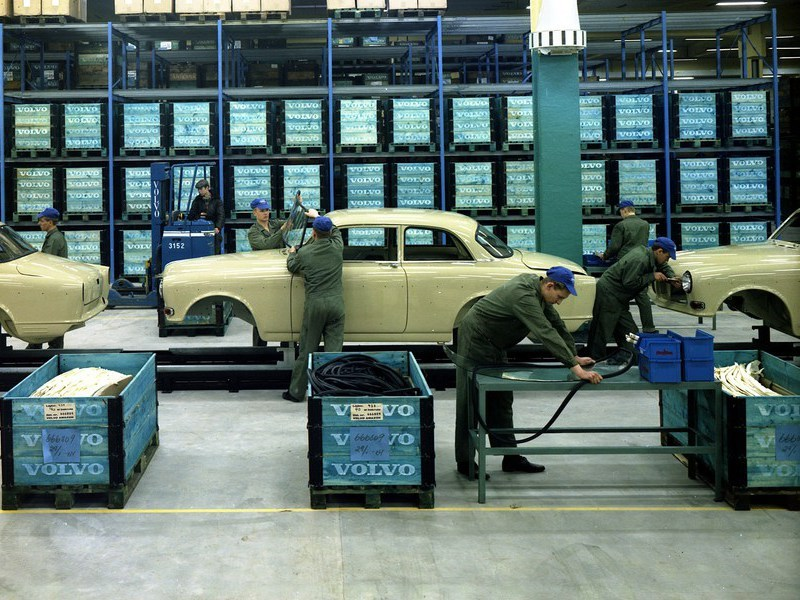 Volvo Amazon отмечает 60-летний юбилей