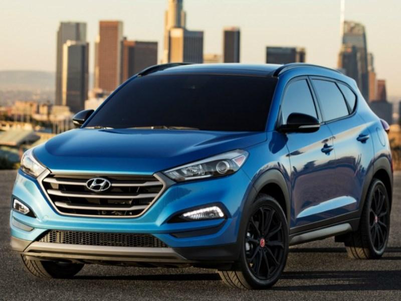 Hyundai показал спецверсию Tucson для SEMA