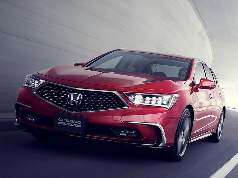 Honda представился автопилот третьего уровня