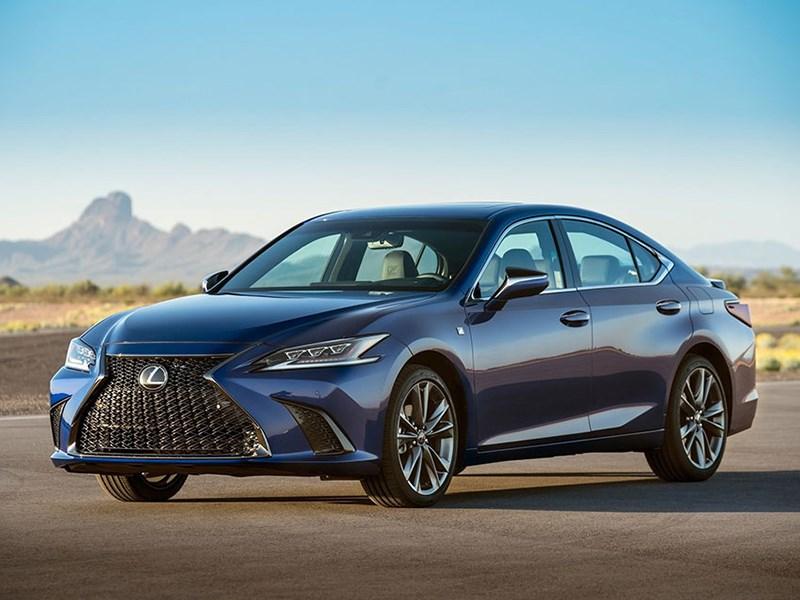 Lexus представил новый ES: ждем в России осенью!