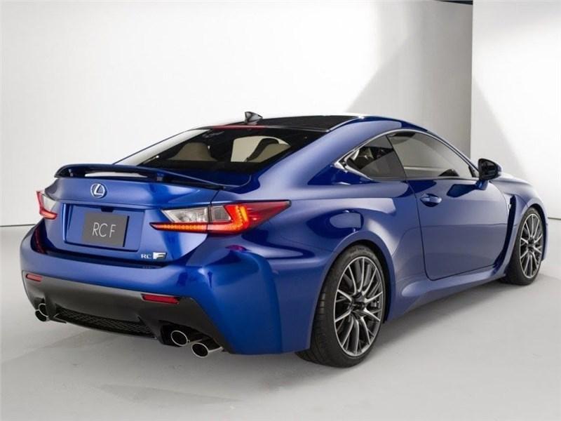 Обновленный Lexus RC - еще более дикий