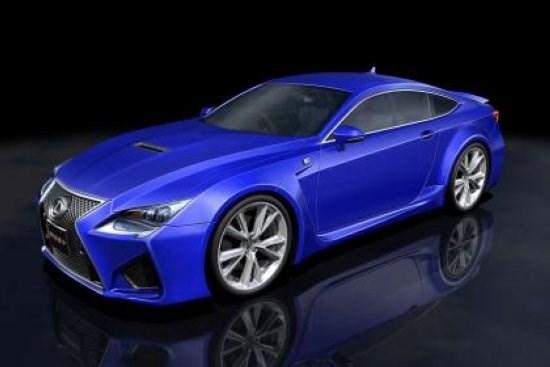 Опубликован прайс-лист на новое двухдверное купе Lexus RC F для британского рынка
