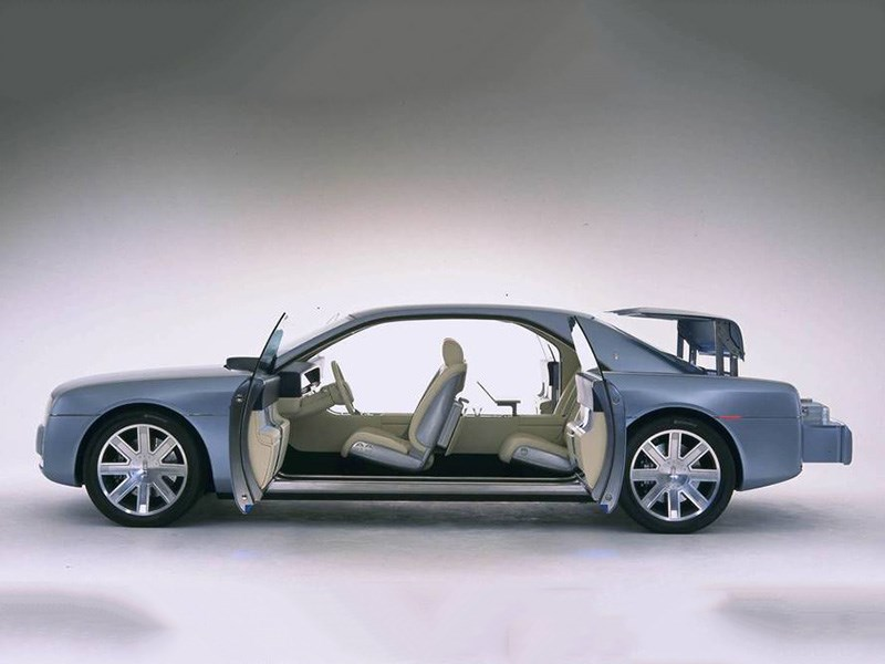 Lincoln Continental получит «суицидные» двери