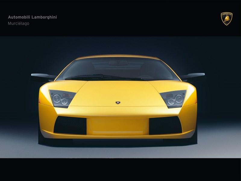 Lamborghini Murcielago 2006 вид спереди